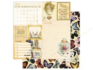 Bo Bunny On This Day Paper 12 in. x 12 in.  April (25 pieces)
