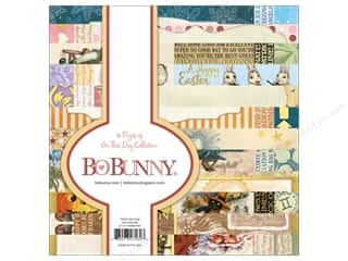 scrapbooking & paper crafts: Bo Bunny On This Day Paper Pad 6 in. x 6 in.