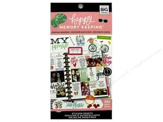 Me&My Big Ideas Collection Create 365 Happy Memory Keeping Sticker Value Pack Big Everyday Memories