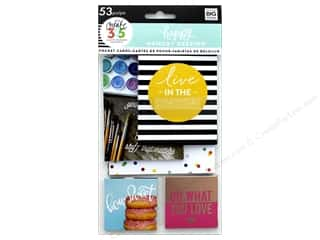 Me&My Big Ideas Collection Create 365 Happy Memory Keeping Pocket Cards Big