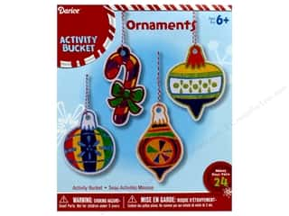 projects & kits: Darice Ornaments Paper Color In With Mini Markers