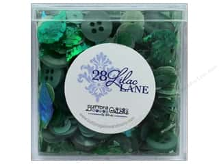 craft & hobbies: Buttons Galore 28 Lilac Lane Shaker Mix Greenery