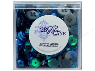 seed beads: Buttons Galore 28 Lilac Lane Shaker Mix Summer Nights