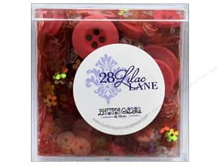craft & hobbies: Buttons Galore 28 Lilac Lane Shaker Mix Poppy Fields