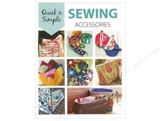 burlap: Leisure Arts Quick & Simple Sewing Accessories Book