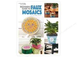 books & patterns: Leisure Arts Beginner's Guide to Faux Mosaics Book