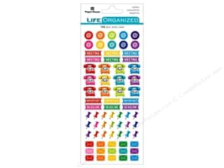 stickers: Paper House Life Organized Sticker Functional Business