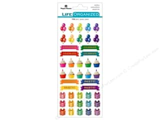 Paper House Collection Life Organized Sticker Functional Birthday