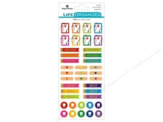 stickers: Paper House Life Organized Sticker Functional Doctor