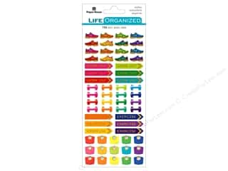 Paper House Life Organized Sticker Functional Fitness