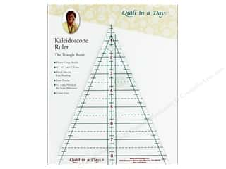 Quilt In A Day Ruler 8 in. Kaleidoscope