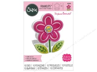 Clearance: Sizzix Dies Stephanie Barnard Framelits Card Fold It Flower