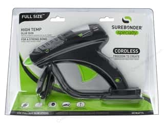 Hot glue gun and glue sticks: Surebonder Cordless Glue Gun High Temperature