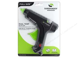 Hot glue gun: Surebonder Glue Gun Full Size Dual Temp 40 Watt