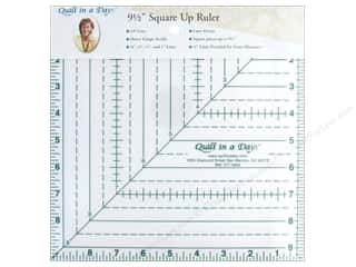 ruler: Quilt In A Day Ruler 9.5 in. Square Up