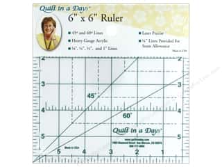 ruler: Quilt In A Day Ruler 6 in. Square Up