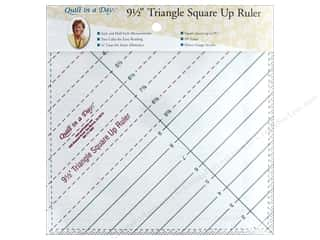 Quilt In A Day Ruler Triangle Square Up 9.5 in.