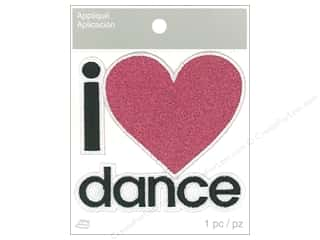 Simplicity Applique Iron On I Love Dance