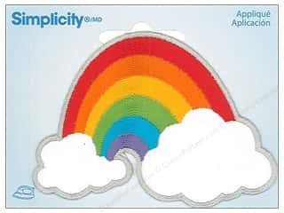 Simplicity Applique Iron On Rainbow