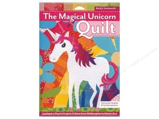 C&T Publishing The Magical Unicorn Quilt Pattern