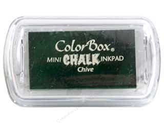 scrapbooking & paper crafts: ColorBox Fluid Chalk Ink Pad Mini Chive