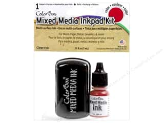 ColorBox Mixed Media Ink Pad Kit Red