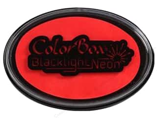 ColorBox Blacklight Neon Oval Ink Pad Apple