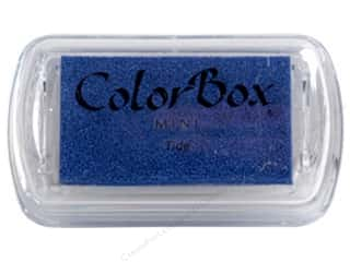 scrapbooking & paper crafts: ColorBox Pigment Ink Pad Mini Tide