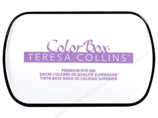 stamp cleaned: ColorBox Premium Dye Ink Pad Full Teresa Collins Project Purple