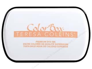 stamp cleaned: ColorBox Premium Dye Ink Pad Full Teresa Collins Blush Glow