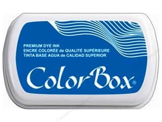 stamp cleaned: ColorBox Premium Dye Ink Pad Full Size Bahama