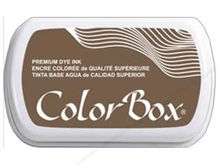 stamp cleaned: ColorBox Premium Dye Ink Pad Full Size Otter