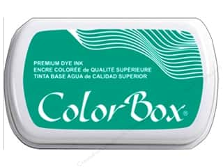 stamp cleaned: ColorBox Premium Dye Ink Pad Full Size Jade