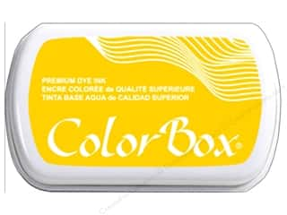 stamp cleaned: ColorBox Premium Dye Ink Pad Full Size Dandelion
