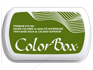 scrapbooking & paper crafts: ColorBox Premium Dye Ink Pad Full Size Olive