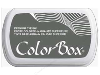 stamp cleaned: ColorBox Premium Dye Ink Pad Full Size Pewter