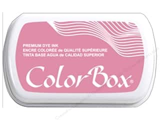 ink pads: ColorBox Premium Dye Ink Pad Full Size Rose