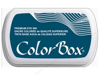 ink pads: ColorBox Premium Dye Ink Pad Full Size Deep Sea