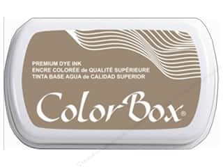 stamp cleaned: ColorBox Premium Dye Ink Pad Full Size Sandstone