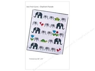 sewing & quilting: Sew Fresh Quilts Elephant Parade Pattern