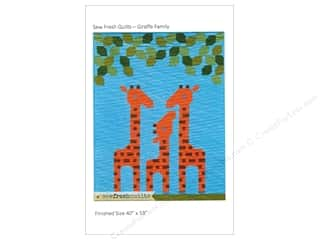 sewing & quilting: Sew Fresh Quilts Giraffe Family Pattern