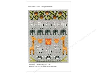 books & patterns: Sew Fresh Quilts Jungle Friends Pattern