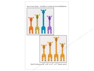 books & patterns: Sew Fresh Quilts Giraffes In A Row Pattern