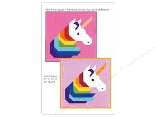 Sew Fresh Quilts Rainbow Unicorn Pattern