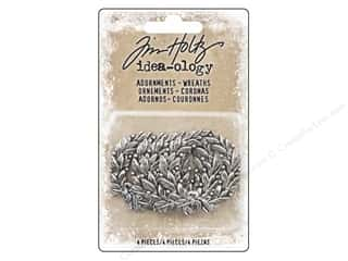 Tim Holtz Idea-ology Christmas Adornments Wreaths