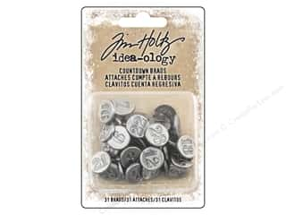 Tim Holtz Idea-ology Christmas Countdown Brads