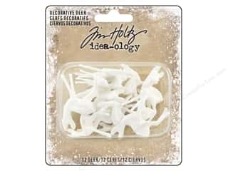 resin: Tim Holtz Idea-ology Christmas Decorative Deer
