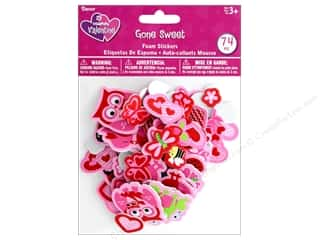 craft & hobbies: Darice Foamies Sticker Valentine Gone Sweet