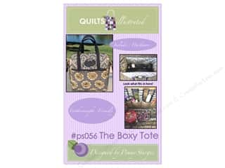 books & patterns: Quilts Illustrated The Boxy Tote Pattern