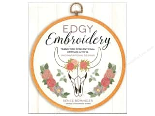 Page Street Publishing Edgy Embroidery Book